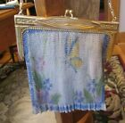 Antique Vintage Whiting & Davis Mesh 1920's Purse Bag Beautiful Butterfly
