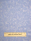 Space Stars Fabric ~ 100% Cotton By The Yard ~ Timeless Treasures Silver Lt Blue