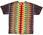 Adult TIE DYE Rasta DNA T Shirt small medium large XL hippie jamaica marley 420