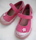 Circo Flower Canvas Flat Shoes Girl Toddler Size 8 Mary Janes