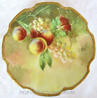 Antique Plate Coiffe Limoges France Flambeau China Decorated Artist Signed