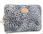 13 inch white leopard Netbook Laptop Sleeve Case Bag Pouch Cover