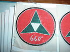 ORIGINAL woven ARVN Special Forces US advisor 660 unit 3 caltrop design