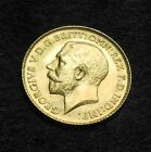 1913 Gold 1/2 Sovereign George V Nice Key Date Rare Better Grade Free Shipping!*