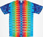 Adult TIE DYE Rainbow DNA T Shirt Small Medium Large XL custom art hippie boho
