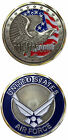 Military United States Air Force Challenge Coin Got Freedom  Flag Eagle New