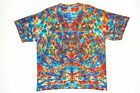 Adult TIE DYE Rainbow Blotter T Shirt small medium large XL hippie art trippy