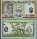 NEPAL 10 RUPEES 2005 UNC P.54 POLYMER BANKNOTE