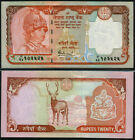 NEPAL 20 RUPEES 2005 UNC P.55 SIGN 16