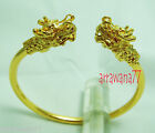 Dragon 22K 23K 24K THAI BAHT YELLOW GOLD GP JEWELRY  BANGLE Bracelets