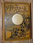 The Royal Gallery Of Poetry  Art intro by WH Milburn 1889 Illustrated