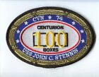 CVN-74 USS JOHN STENNIS 100 HELICOPTER CARRIER LANDINGS NAVY SQUADRON PATCH