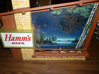VINTAGE HAMMS STARRY SKIES WORKING MOTION LIGHTED BEER SIGN NO. 1056