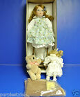 1991 MOMENTS TREASURED HANDCRAFTED PORCELAIN DOLL