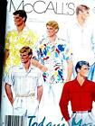 NEW FAB VTG NICE SET OF MENs CASUAL SHIRTS 5 STYLES Sewing Pattern 2379 42