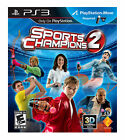 Sports Champions 2 Move (Sony Playstation 3) - SIX PS3 Games! Sealed NEW!