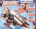 MARVEL COMICS AVENGERS UNITED THEY STAND SKY CYCLE VEHICLE TOY BIZ MINT IN BOX