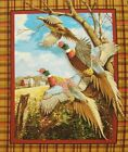 Springs Creative~ CRESTED RINGNECK PHEASANT ~ 100% Cotton Fabric 36