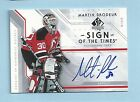 MARTIN BRODEUR 2006 07 SP AUTHENTIC SIGN OF THE TIMES AUTOGRAPH AUTO
