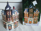 HEARTLAND VALLEY CERAMIC CHRISTMAS VILLAGE COFFEE SHOP LE-1998