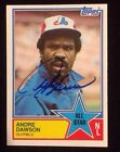 Andre Dawson Cards, Rookie Card and Autographed Memorabilia Guide 30