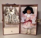 Heritage Mint 1997 Lasting Impressions Companion Doll /W Trunk And Extra Dress