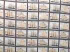 Ancient Mariners SHIPS Fabric Panel Colorful Quilt Wall Hanging Girl & Horse