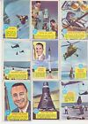 32 1963 TOPPS POPSICLE MERCURY ASTRONAUT SPACE TRADING CARDS