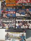 7 SEALED BOXES 2012 2013 Bowman Absolute Prestige Score Leaf Football Cards LOT