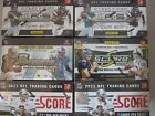 6 SEALED BOXES 2010 2011 2012 Leaf Rookies Stars Score Bowman Football Cards LOT