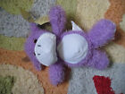 2010 KELLYTOY Toys Bean Pals Plush Purple cow