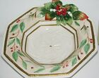 Fitz and Floyd Classics WINTER WONDERLAND Large Serving Bowl - Original Box