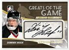 DOMINIK HASEK 10-11 ITG BETWEEN THE PIPES GREATS OF THE GAME AUTOGRAPH AUTO SP