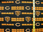 NFL CHICAGO BEARS 100%  COTTON FABRIC  BY THE 1/4 YARD