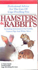 VHS VIDEO PRO ADVICE FOR HAMSTER, RABBIT, GERBIL, GUINEA PIGS, MICE CARE