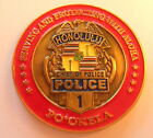 Honolulu Chief of Police Challenge Coin