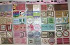 Lot 30 Scrapbook Craft Chipboard Embellishment Various Themes Sports Christmas+