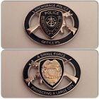 Anchorage Alaska AK Crossed Rifle Challenge Coin Police Sheriff