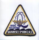 NAS NAVAL AIR STATION QUONSET POINT RI TRIANGLE NAVY BASE SQUADRON PATCH