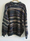 Vintage Toorallie Cosby Australia Sweater coogi Large L Merino Wool Green Brown