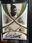 2005-06 SP Game Used Legendary Fabrics Bill Russell Jersey Patch Auto Card 50