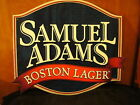 Samuel Adams Brewery Boston Lager Sign Tacker Beer Boston MA The Start of Micros