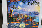 DISNEY DREAMS Thomas Kinkade Pinocchio Wishes Upon a Star 750 PC Puzzle Set NIB