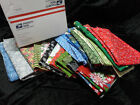 Fabric Remnants - 5lb package Mixed Variety WINT/CHRISTMAS Remnants/End of Bolts