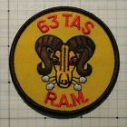 USAF, Air Force, 63rd Tactical Airlift Sq (TAS) patch, R.A.M.