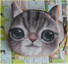 New Nice Hot Selling Cotton Mini Cat Coin Hand Purse Wallet For Children Gift