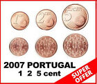 CA 2007 PORTUGAL 1 2 5 euro cents (Uncirculated from Roll) SUPER OFFER