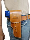 New Barsony Tan Leather Flap Gun Holster for Ruger Star Full Size 9mm 40 45
