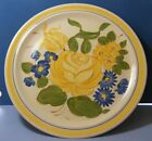 Redwing Pottery Dinnerware Large Round Chop Plate Platter Brittany Yellow 14