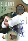 2014 SP Game Used #56 Rory McIlroy Shirt Auto RC 199